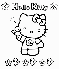 Small Picture outstanding hello kitty coloring pages with hello kitty color