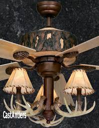 antler chandelier ceiling fan