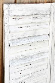 Make Your Own Shutters Charmed Crown Blog Make Your Own Vintage Crackled Shutters