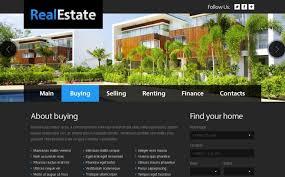 Real Estate Website Templates Extraordinary Free Website Template Real Estate