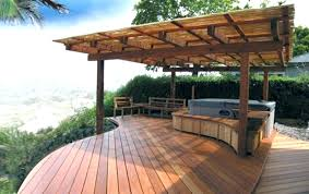Wooden Patio Designs Outdoor Wooden Patio Designs Backyard Wood