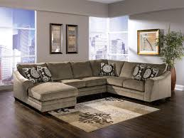 sectional with oversized ottoman sectionals for ashley sectional sofa