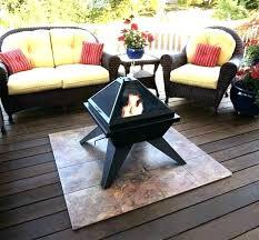fire pit safe for wood deck deck safe fire pit fire pit wood deck can i fire pit safe for wood deck