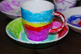 Decorating With Teacups And Saucers Decorate Your Own Teacups Homegrown Friends 27