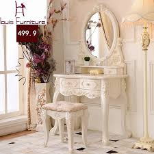 luxury french style ss dresser makeup dressing table with mirror vanity set in dressers from furniture on aliexpress alibaba group
