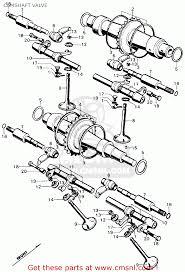 4671 camshaft spacer rings mia on honda cb750 parts diagram