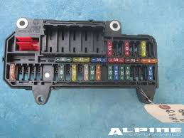 origianal bmw power distribution fuse box trunk e65 e66 745i 750i bmw power distribution fuse box