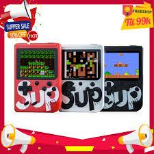 MÁY CHƠI GAME 4 NÚT CẦM TAY SUP GAME BOX 400 IN 1 PLUS Chính Hãng 100%