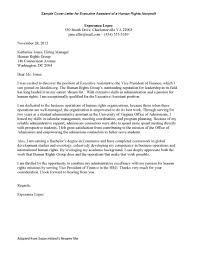 Cover Letter Sample Uva Career Center