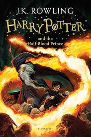harry potter and the half blood prince book cover bookriot