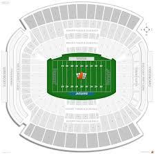 Everbank Field Seating Chart Jacksonville Jaguars Seating Guide Tiaa Bank Field
