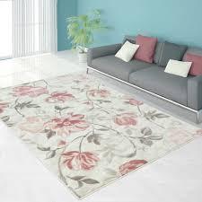 pink fl area rug