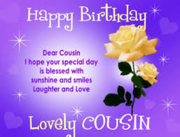 Cousin Birthday Quotes Gorgeous Happy Birthday Cousin Quotes Images Pictures Photos Happy