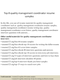 topqualitymanagementcoordinatorresumesamples lva app thumbnail jpg cb