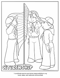 Small Picture Printable Coloring Activity Pages Cub Scout Pack 16
