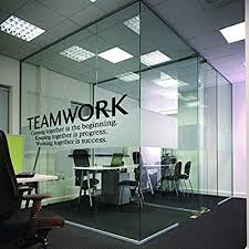 Office wall art Dental Amazoncom Nsunforest Quotes Wall Decal Teamwork Definition Office Wall Decor Inspirational Lettering Sayings Wall Art Murals Home Kitchen Amazoncom Amazoncom Nsunforest Quotes Wall Decal Teamwork Definition Office