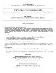 Purchasing Manager Cv Word Warehouse Resume Templates Bunch Ideas