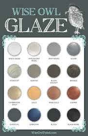 Glaze Color Chart Wise Owl Glaze