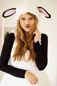 diy simple bunny makeup