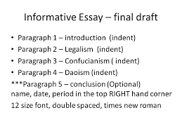 examples of an informative essay sources and citation sources  examples of an informative essay sources and citation sources cite your sources and avoid informative