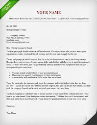 Gallery Of How To Write A Short Cover Letter
