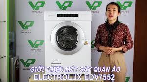 Giới thiệu máy sấy quần áo Electrolux EDV7552 - 7.5kg - YouTube