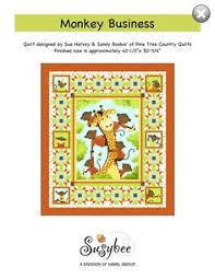 Susybee Buddies Storytime Quilt Pattern (FREE) | Julie's Quilt ... & Monkey Business Quilt Pattern (FREE) Adamdwight.com