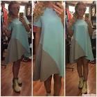 Выкройка платья с удлиненным низом