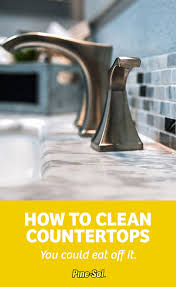 sticky fingers food ss and soap s do a number on your counters in the kitchen and bathroom get your countertops clean and gleaming again with
