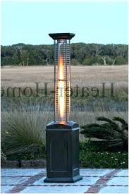 stainless steel inch tall patio heater silver assembly hardware outdoor fire sense manual lighting instructions
