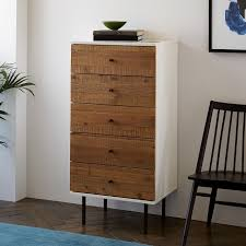 Laquer furniture Painting West Elm Reclaimed Wood Lacquer 5drawer Dresser West Elm