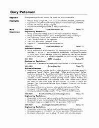 Supply Technician Resume Example Avionics Technician Resume Fresh Sterile Supply Technician Sample 10