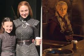 Bella ramsey, who played lyanna mormont on game of thrones, has been cast as ellie on hbo's last of us. Got Fans Say Sansa Stark To Blame For Coffee Cup Goof