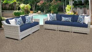 fairmont 5 piece outdoor wicker patio