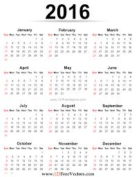 Empty Calendar Template 2015 2016 Calendar Printable Free