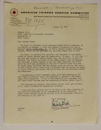 martin luther king jr nomination nomination letter from american friends service committee