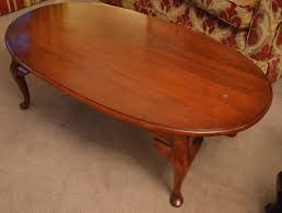 American Drew Coffee Table Coffee Table Mahogany Cherry Colour Solid Wood American Drew