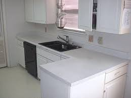 White Kitchen White Countertops White Laminate Countertop
