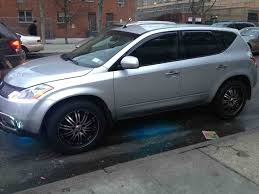 2009 nissan murano tire size nissan murano custom wheels 20x et tire size 275 45 r20 x et