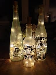 Gepersonaliseerde Fles Met Lampjes