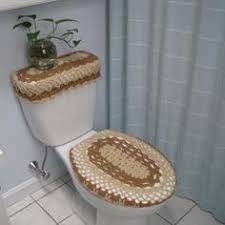 toilet seat lid covers. toilet seat cover \u0026 top tray set pattern | crochet patterns lid covers v