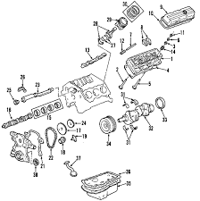 com acirc reg chevrolet engine cylinder head valves rocker arms 2001 chevrolet impala ls v6 3 8 liter gas cylinder head valves