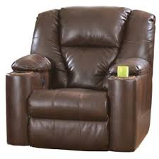 automatic lift chairs. Ashley Paramount Brown Bonded Leather Power Recliner Automatic Lift Chairs A