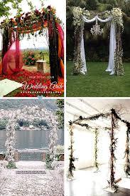 beautiful wedding canopies to diy