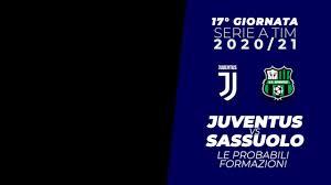 Serie A 2020-21: Juventus - Sassuolo le probabili formazioni -  ZonaCalcioFaidate