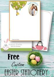 easter stationery free custom easter stationery