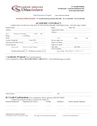 11 Student Academic Contract Template Examples Pdf Word