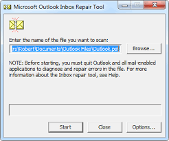 Outlook Pst Showing Error 0x80040116 How To Resolve