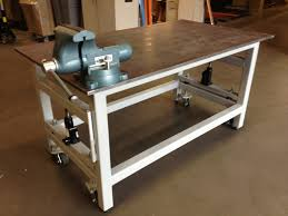 Top 36 Awesome Heavy Duty Work Bench With Retractable Wheels