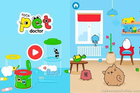toca pet doctor cute funny vets app for kids by toca boca